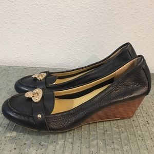 Tommy Hilfiger Kree Leather wedge Shoes